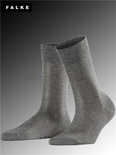 SENSITIVE MALAGA chaussette - 3399 light grey