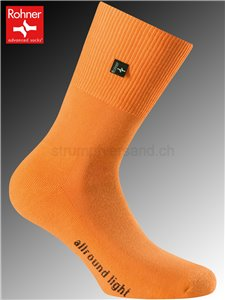 chaussettes Rohner ALLROUND LIGHT - 042 orange