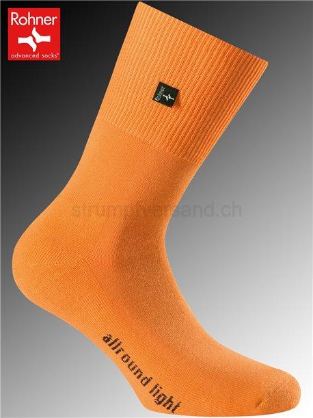 chaussettes Rohner ALLROUND LIGHT - 042 orange