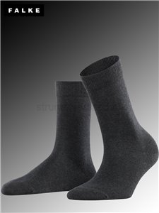 FAMILY chaussettes femmes - 3089 anthracite mel.