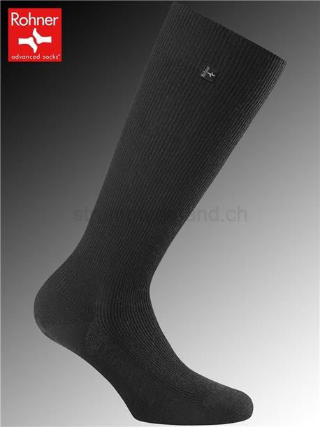chaussettes hautes SUPER LONG - 009 noir