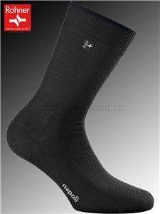 chaussettes Rohner NAPOLI - 009 noir
