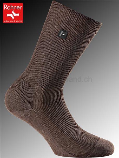 chaussettes Rohner PLATIN - 047 brun
