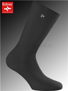 chaussettes Rohner GENIUS - 009 noir