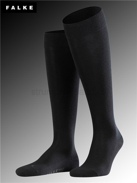 Chaussettes mi-bas LONDON Sensitive - 3000 noir