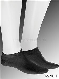 Chaussettes sneaker Fresh Up - 007 noir