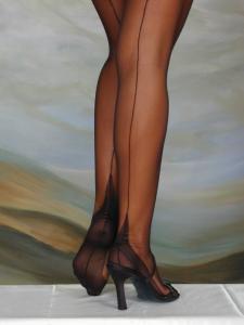 Eleganti - bas nylon noir