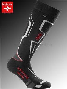chaussettes Rohner R-MOTION - 009 noir