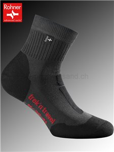 chaussettes Rohner TREK'N TRAVEL - 135 anthracite