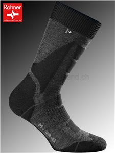 chaussettes Rohner BACK COUNTRY - 135 anthracite