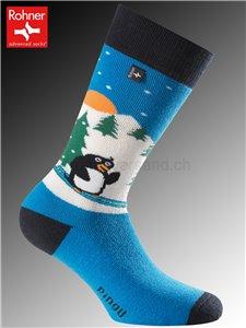 chaussettes Rohner PINGUIN - 186 bleu