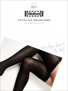 bas jarretière WOLFORD - FATAL 80