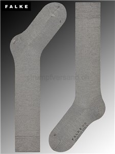 Chaussettes mi-bas SENSITIVE BERLIN - 3830 light grey