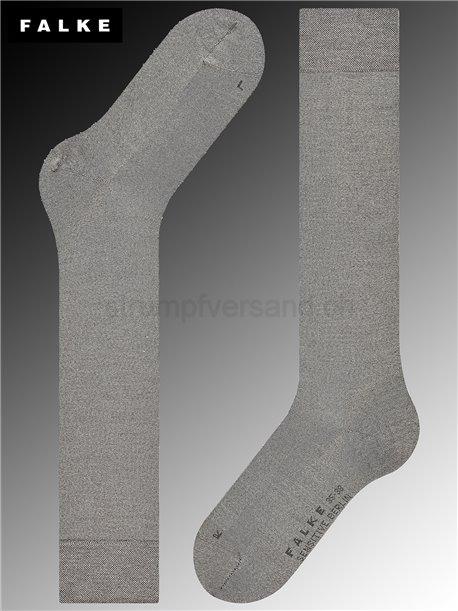 Chaussettes mi-bas SENSITIVE BERLIN - 3830 light grey