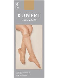 Kunert mi-bas - COTTON SOLE 20