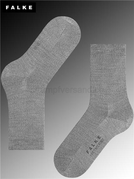 Chaussettes SOFT MERINO - 3830 light grey