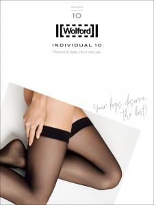 bas autofixants Wolford - INDIVIDUAL 10