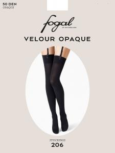 VELOUR OPAQUE - bas porte-jarretelles Fogal