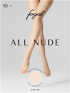 Fogal ALL NUDE - bas jarretières