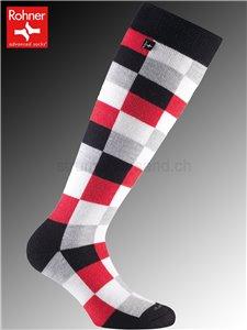 CAROLA chaussettes Rohner - 157 rouge