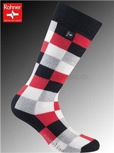 CAROLINA chaussettes Rohner - 157 rouge