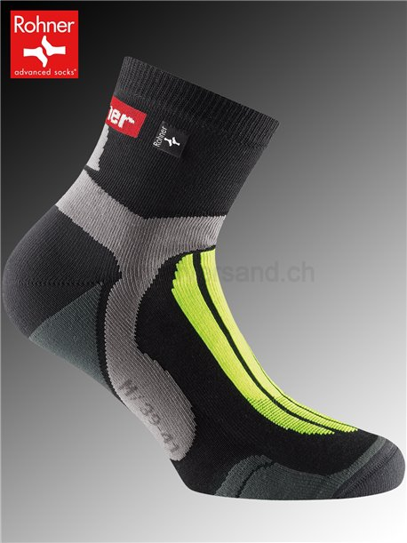 chaussettes Rohner CROSS COUNTRY - 518 jaune fluo