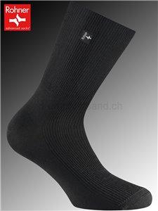 chaussettes diabétiques mérino - 009 noir