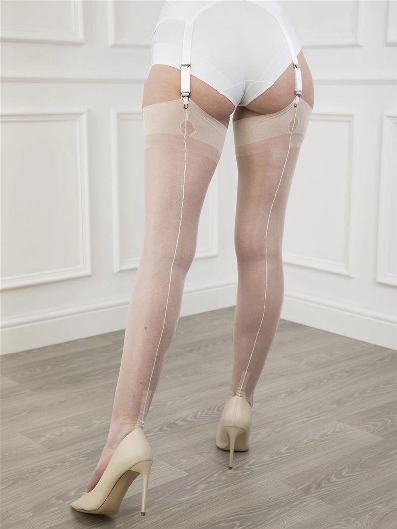 Heels stocking legs mature tube