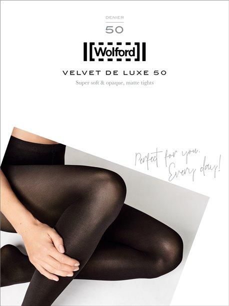 collant Wolford - Velvet de Luxe 50