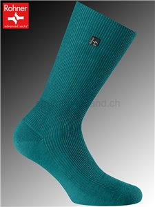 chaussettes Rohner SUPER - 313 petrol