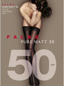 Bas jarretière - PURE MATT 50