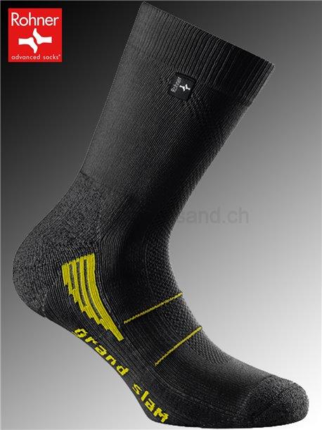 chaussettes Rohner GRAND SLAM - 009 noir