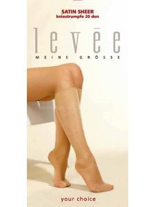 Levée Satin Sheer - mi-bas