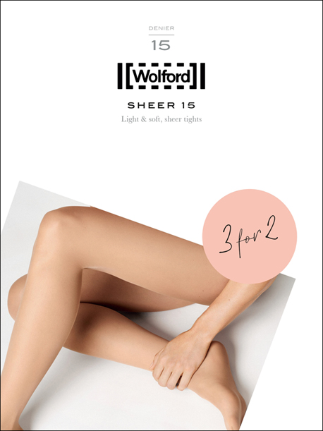 PROMOTION 3 pour 2 - Wolford Sheer 15