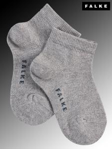 Chaussettes courtes Shiny - 3400 light grey mel.