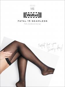 bas jarretière - Wolford FATAL 15