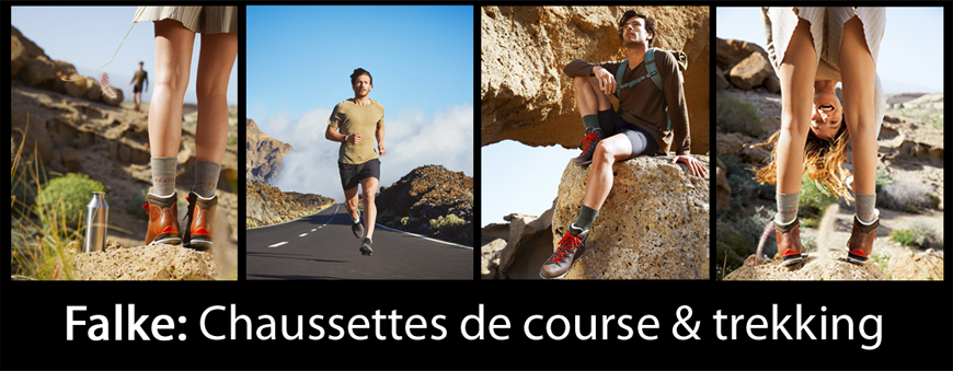 Falke - Chaussettes de course & trekking