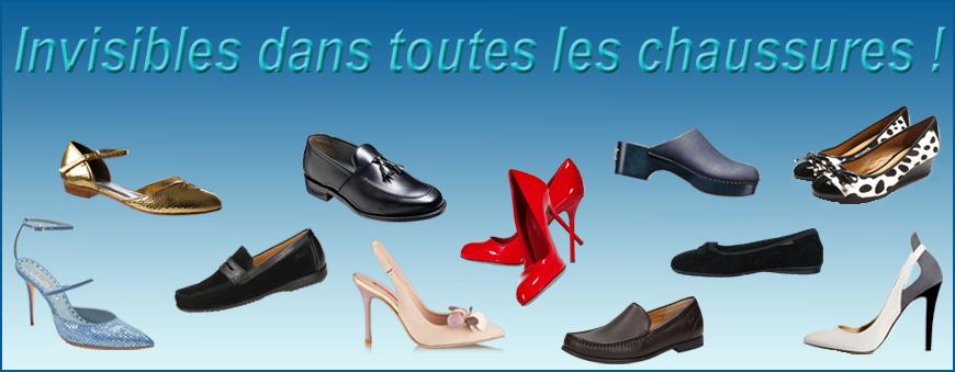 Protège-pieds pour les chaussures d'été