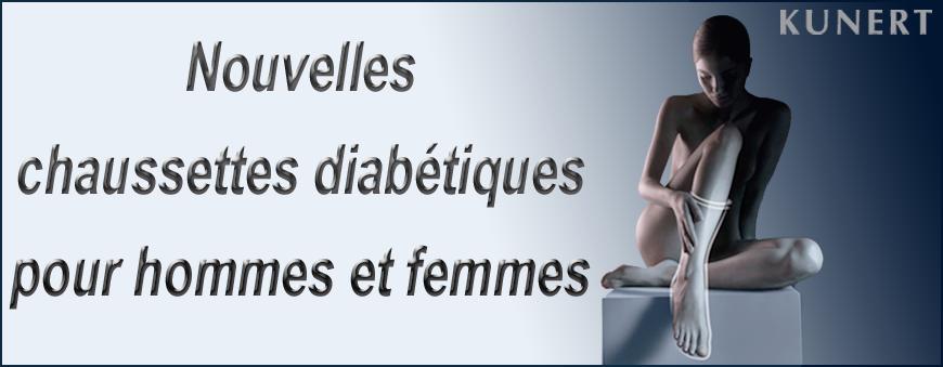 Chaussettes diabétiques pour hommes et femmes