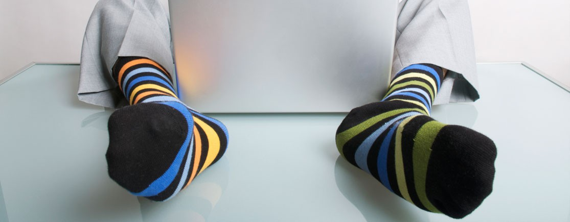 Boutique pour chaussettes à motifs